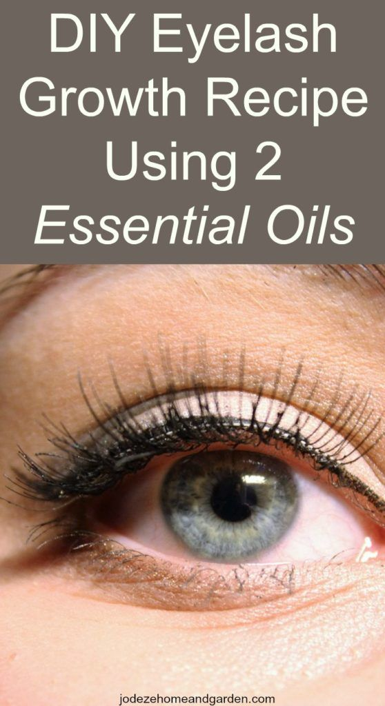 DIY Eyelash Growth Recipe Using 2 Essential Oils. I was reading about the benefits of using these 2 essential oils and how it can increase eyelash growth.