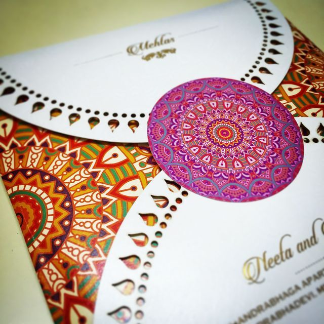 11 best Wedding card images on Pinterest | Indian bridal, Indian ...