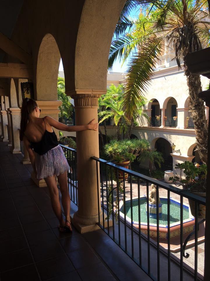 San diego, california, travel, traveller, travelblogger, magic, fountain, garden, ootd, balboa park