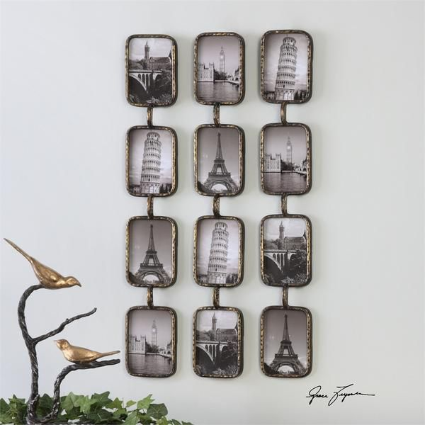 Uttermost, transitional Wall Décor, Photo Collage, Wall Décor