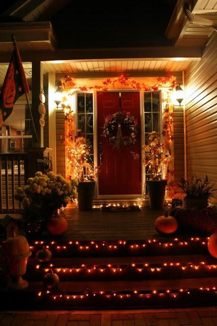 halloween yard decoration or could be christmas decorations cute autmun fall decorations - Homes Decorated For Halloween