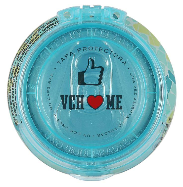 Tapa de la nueva lata de Vichy Catalán Plus Menta, con ginseng y guaraná