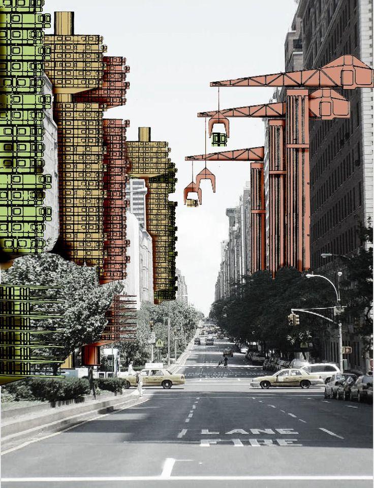 Plug in City by Archigram