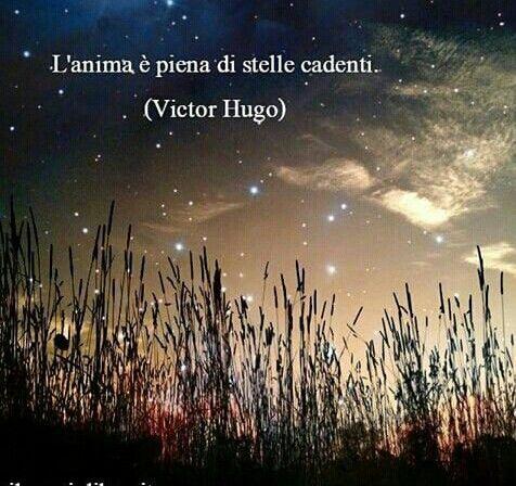 L'anima è piena di stelle cadenti....