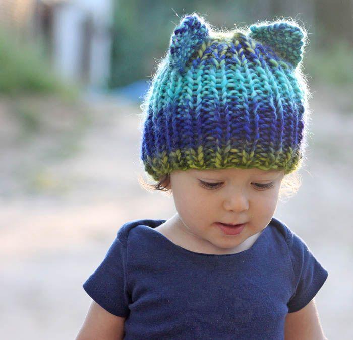 Bear Hat Knitting Pattern : Toddler Bear Hat [knitting pattern] Knitting Pinterest Knitting, Knitti...