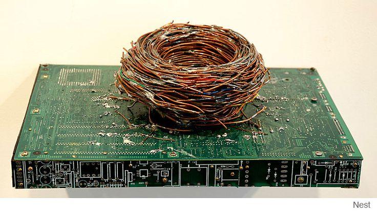 Amazing Circuit Board Artwork by Peter McFarlane   1 Design Per Day