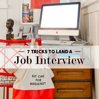 Land a Job Interview