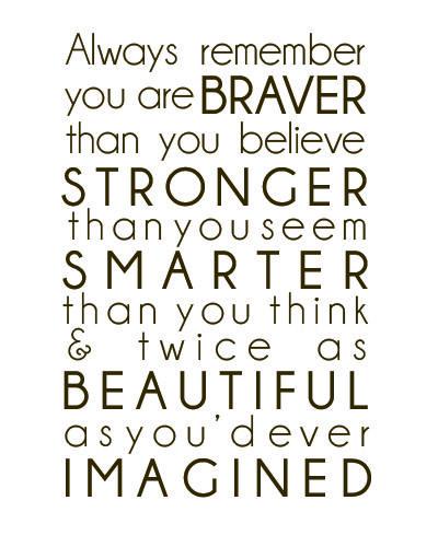 Always remember....
