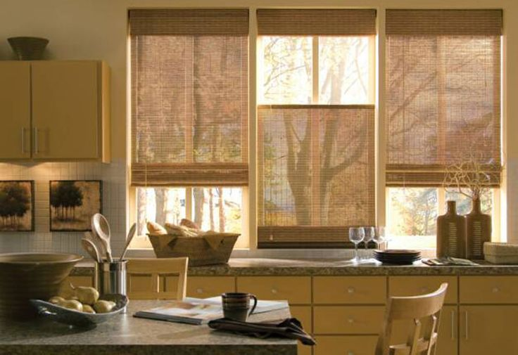 Tropical Isle Basic Bamboo Shades Custom Blinds and Shades By SelectBlinds.com