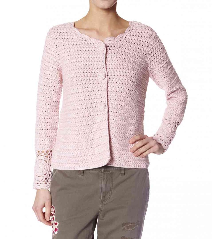 crochet ming jacket from Odd Molly