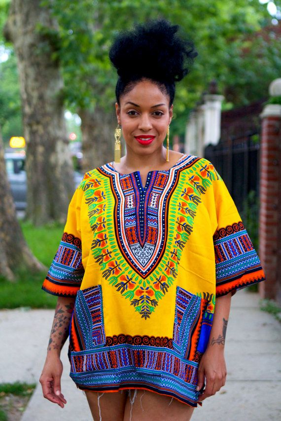 Dashiki Shirt For Women