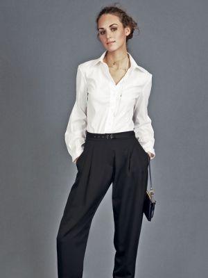 Schnittmuster: Karottenhose - tiefe Bundfalten - Weitere Hosen - Hosen - Damen - burda style