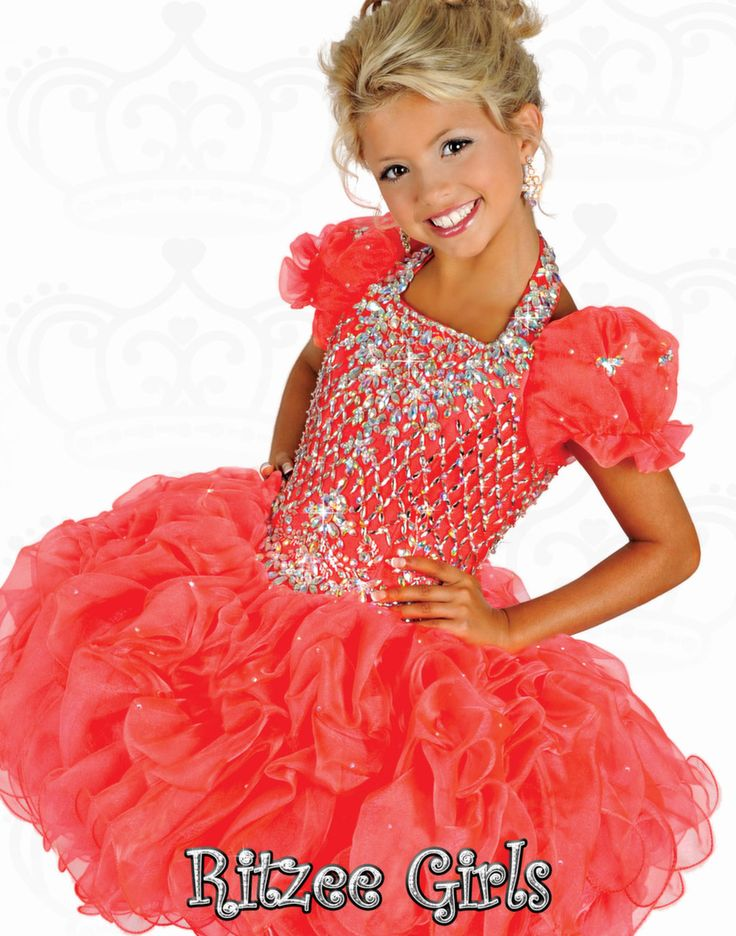 218 Best Girls Pageant Dresses Images On Pinterest