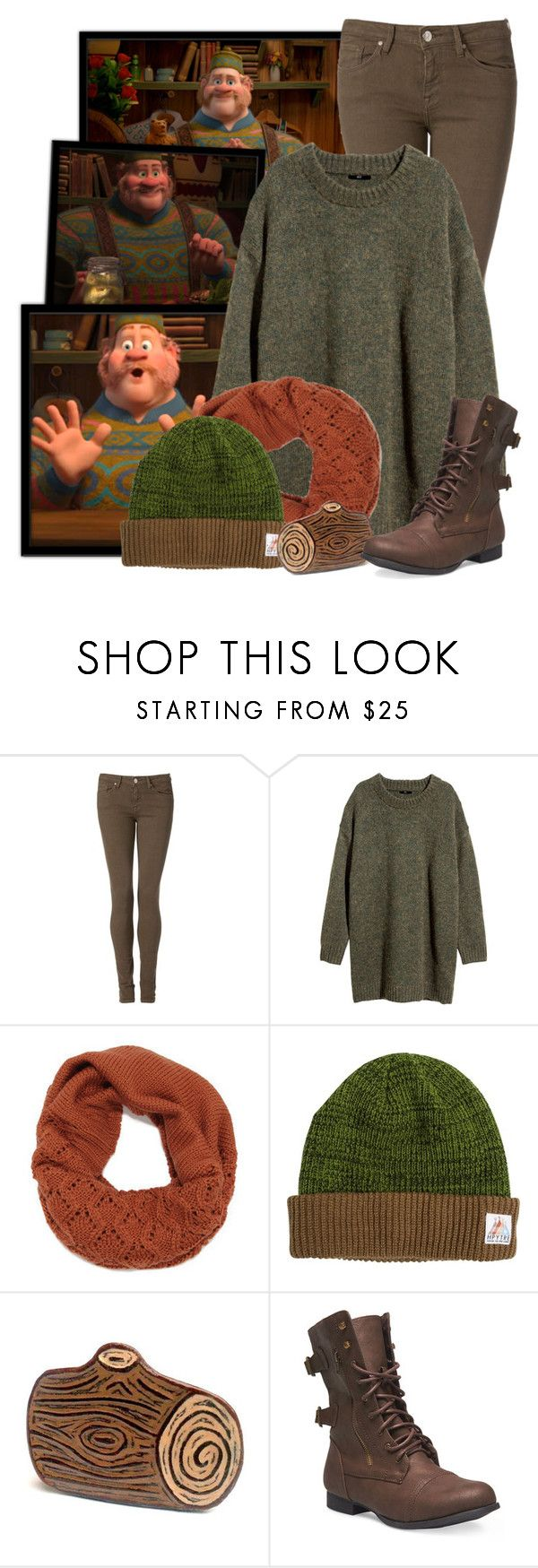 """Oaken - Frozen"" by totallytrue ❤ liked on Polyvore featuring Disney, Tommy Hilfiger, H&M, HippyTree, Wet Seal, disney, disneybound and frozen"