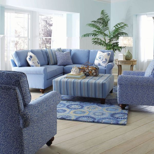 Exquisite Living Room Furniture exquisite design of accent chairs for living room contemporary with fair furniture layout Bayside Sectional Chair Ottoman Coachbarncom Make An Exquisite Living Room Ensemble