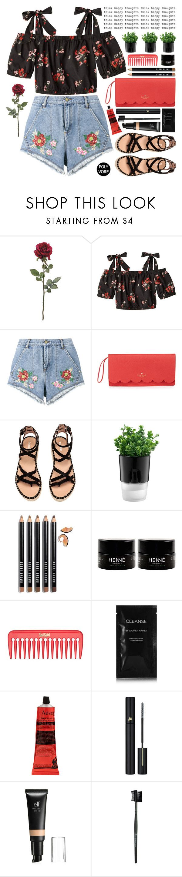 """Woke Up Feeling Great!"" by stavrolga on Polyvore featuring House of Holland, Kate Spade, Bodum, Bobbi Brown Cosmetics, Cleanse by Lauren Napier, Aesop, Lancôme and e.l.f."