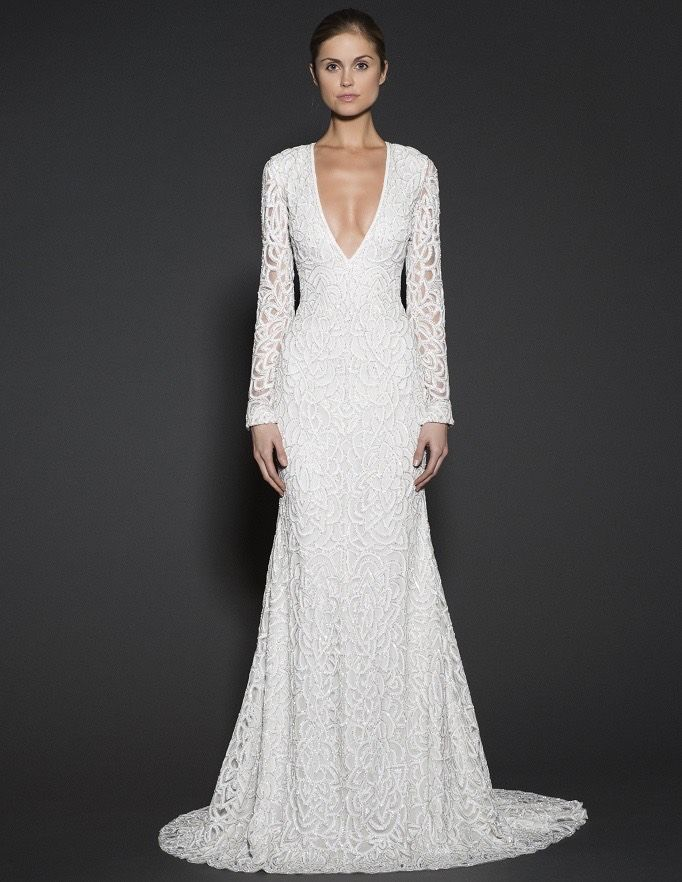 Naeem Khan Wedding Dresses 2016 Spring Collection