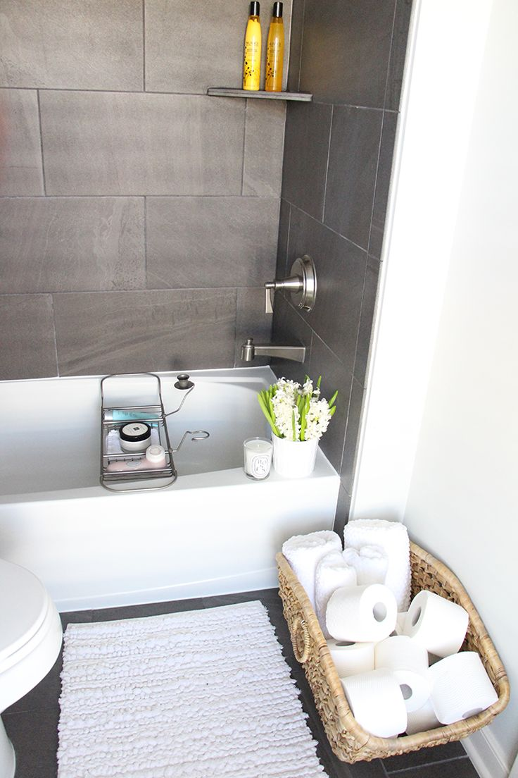 I like the low bathtub...easy to sit on floor to bath young children Guest Bathroom Inspiration
