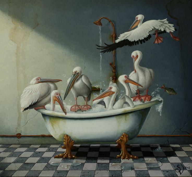 Badkuip by Suzan Visser