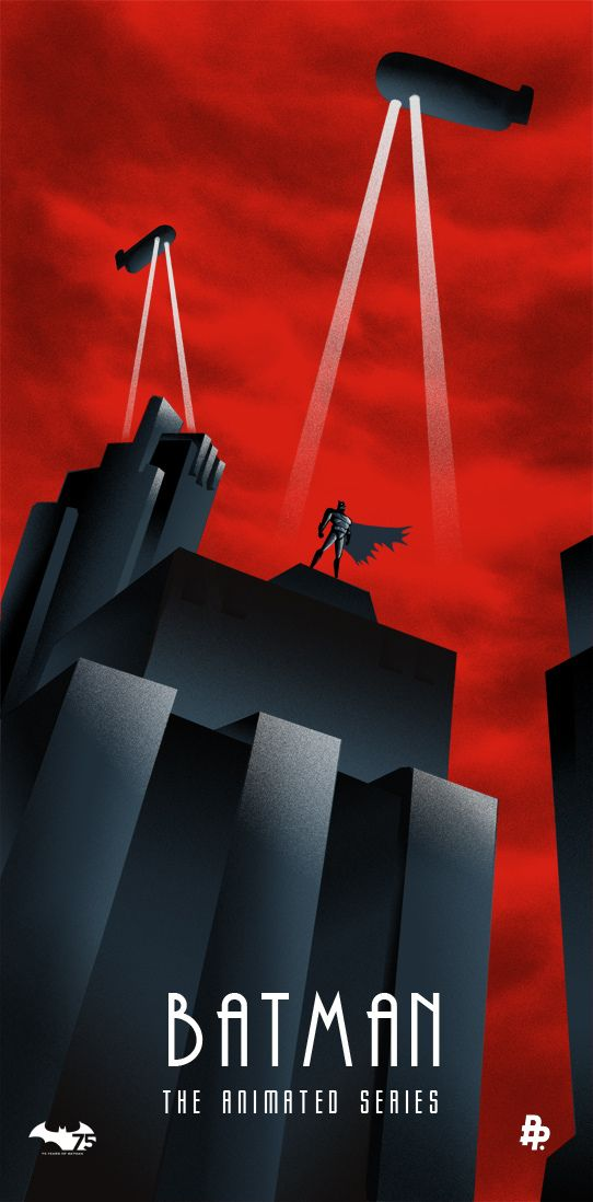 Batman: The Animated Series by Rodolfo Reyes