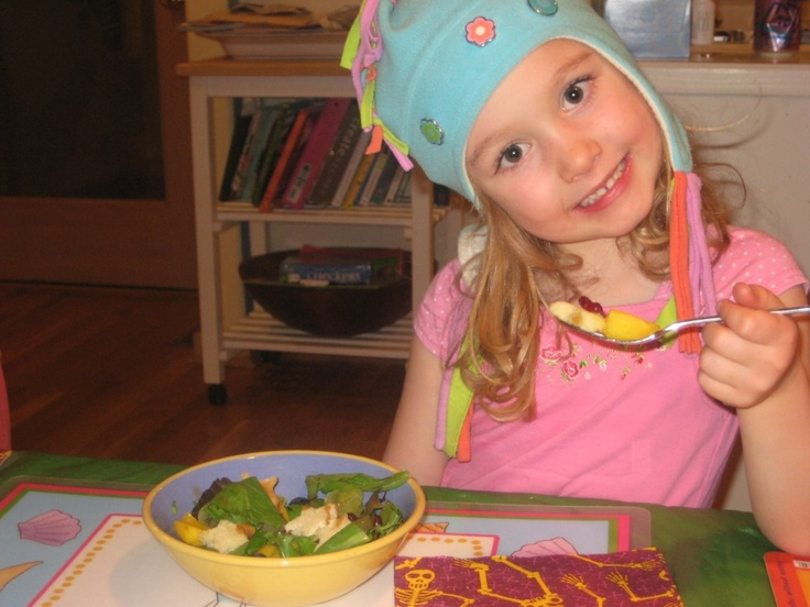Make Your Own Salad Night with @School Bites #KidsCookMonday