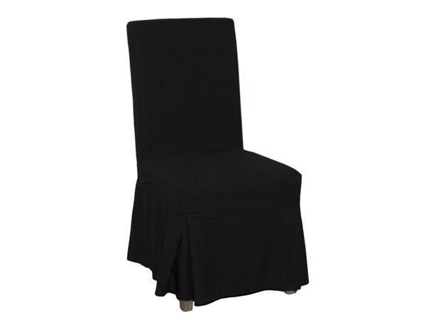 Black linen/cotton