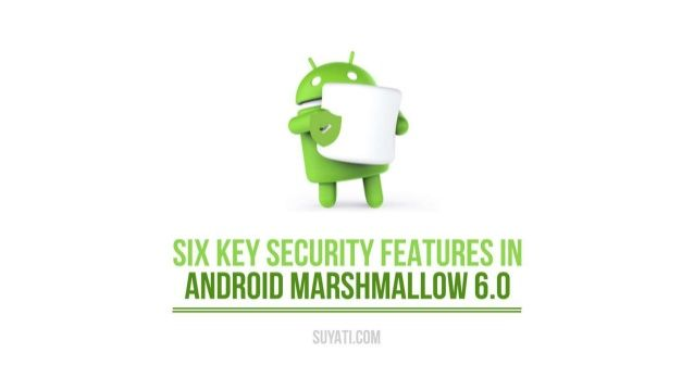 With Google's latest OS version Marshmallow out in the market, many of us are chasing it without paying any heed to what new features it offers. Let's take a look at the top security and privacy features that Android 6.0 Marshmallow offers.