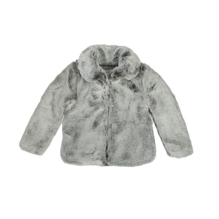 Chaude, douce et très preppy, la veste Frigo Boheme Grey va faire la joie des petites filles (A partir de 115€)