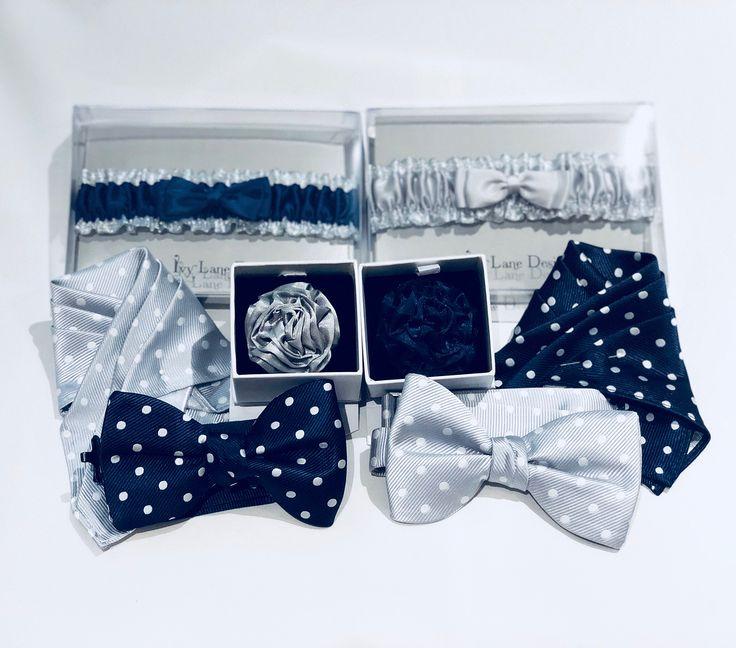 #Prom2018 Polka Dot Bows & Pocket Squares matching Lapel Pins & of course Garters for the Girls!  Get $50 OFF All Designer Tuxedo & Suit Rentals @ GQ Formalwear! #WeAreTheTuxperts . .  #GQTUX #Prom2018 #PromTux #Tuxedo #Style #Fashion #Tux #SlimFit #IkeBehar #MichaelKors #JeanYves #TonyBowls #DavidTutera #AfterSix #IkeEvening #PerryEllis #AllureMen #GQStyles #MensFashion #Tuxperts #GQModel #PromDress #BowTie #PromStyle #GQModel2018 #PolkaDot #Garters #LapelPin