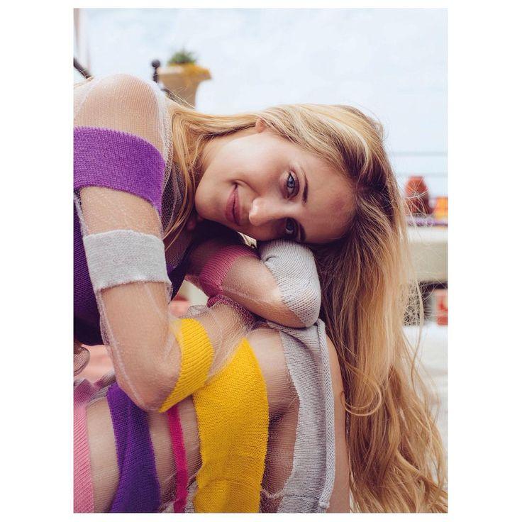 Aitana Baeza Knits - #oopsloops #dress  #Photographer :...