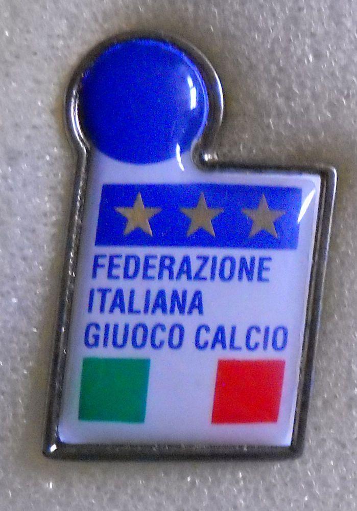 BELLISSIMO DISTINTIVO SPILLA PIN BADGE F.I.G.C. ITALIA