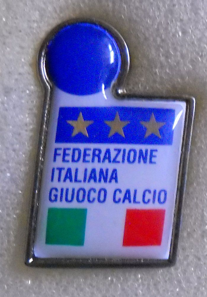 BELLISSIMO DISTINTIVO SPILLA PIN BADGE F.I.G.C. ITALIA