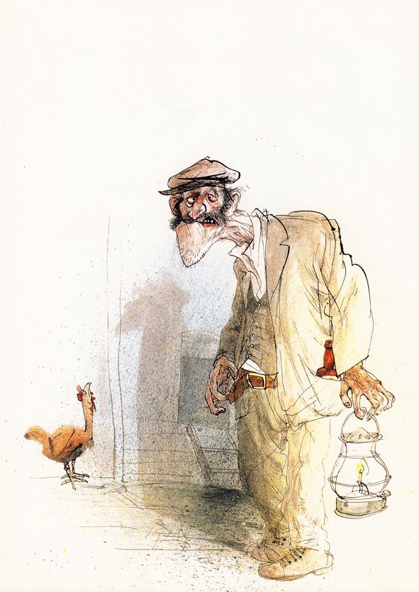 George Orwell's Animal Farm Illustrated by Ralph Steadman   Brain Pickings
