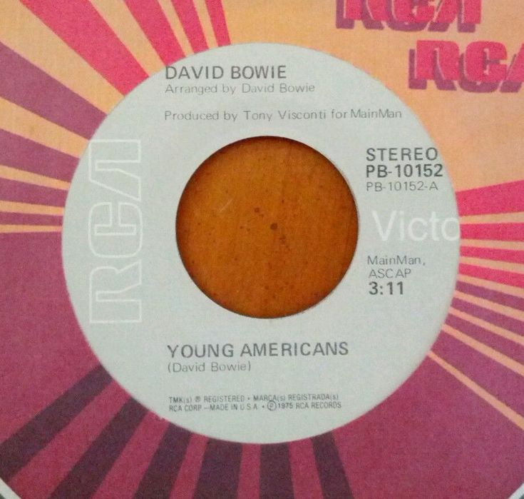 """DAVID BOWIE 7"""" SINGLE 45 RPM """"YOUNG AMERICANS"""" """"KNOCK ON WOOD"""" NEW NEVER PLAYED    eBay"""