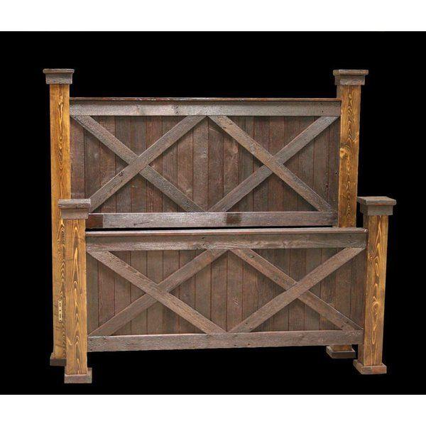 Jorgensen Platform Bed Diy Farmhouse Bed Wood Bed Frame Diy Queen Bed Frame Diy