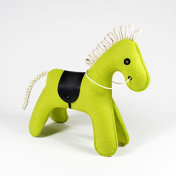 toy horse - KONNIK - lime 1