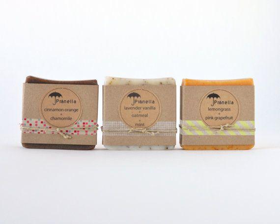 50 Personalisierte BabyDuscheSoap Gefälligkeiten von prunellasoap