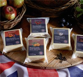 Somerdale Flavoured Cheeses - A combination of Classic English Cheese and complimentary flavours. Choose from #Wensleydale with #Cranberries, Wensleydale with #Apricots, Wensleydale with #Fig and #Honey, #Cheddar with Cracked Black #Pepper and Cheddar with #Whisky. #EnglishCheese #Cheese #Australia #lovecheese