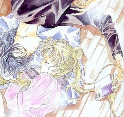 Serena & Darien ~ Sailor Moon & Tuxedo Mask ~ Usagi & Mamoru