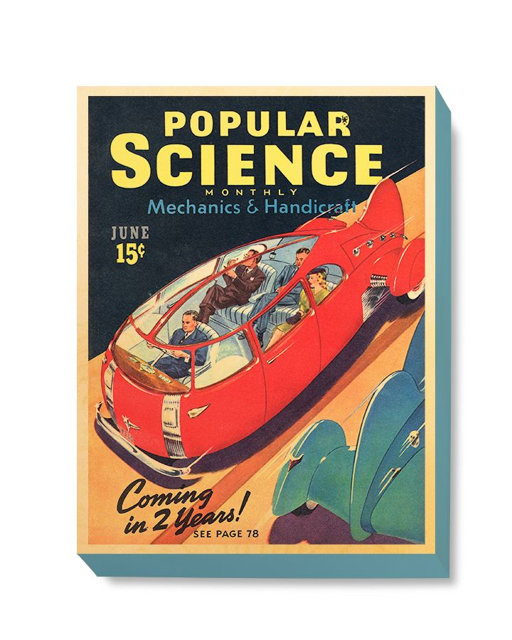 SFI 023 Popular Science June Car