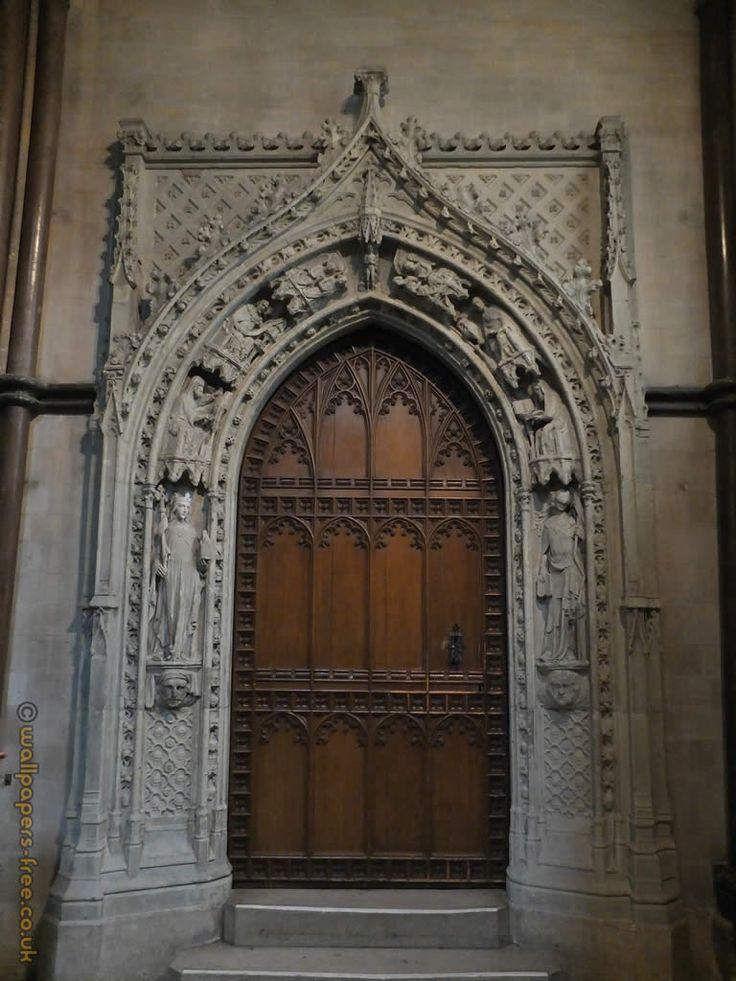 medieval doors | Medieval Decorative Medieval Door In Rochester Cathedral. #MedievalJousting #JustJoustIt & 128 best Doors images on Pinterest | Stock photos Custom wood ... pezcame.com