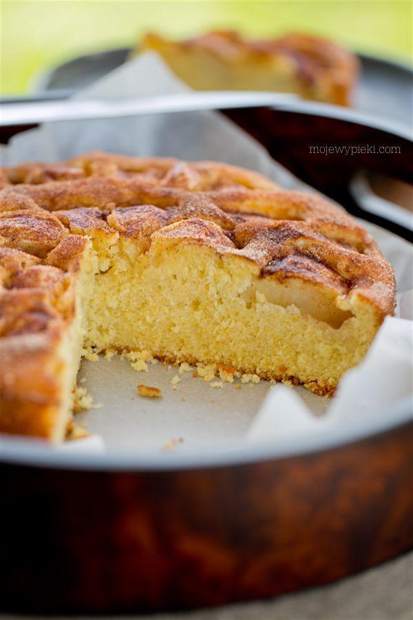 Ciasto jabłkowo - pomarańczowe z cynamonem