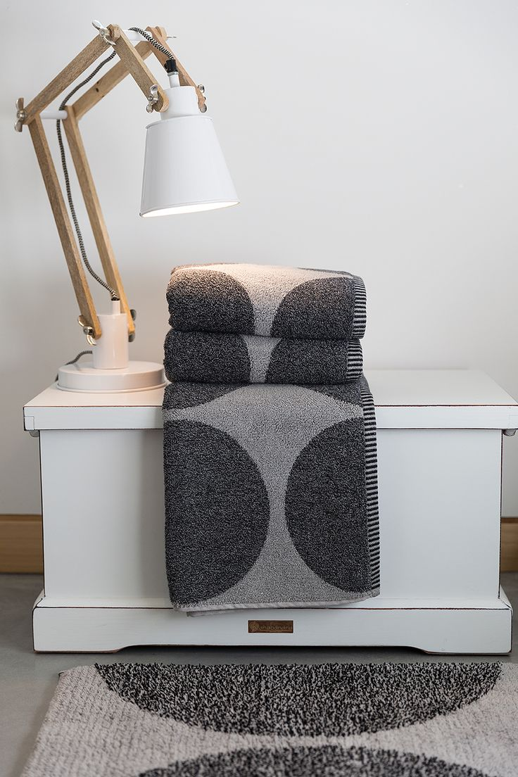 Urban bath towels and bath rugs. Part of our Urban Explorer bath concpet with different shapes, different lines and mainly warm dark tones that never disappoint or compromise.