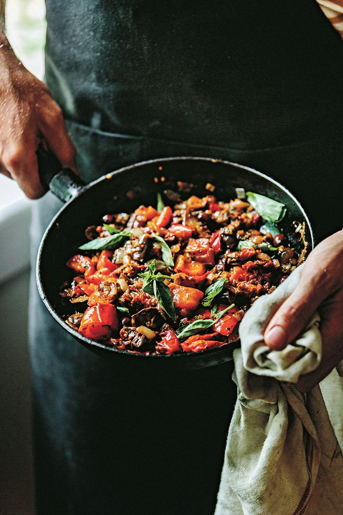 This gorgeously simple vegetarian dish sings of seasonal produce.