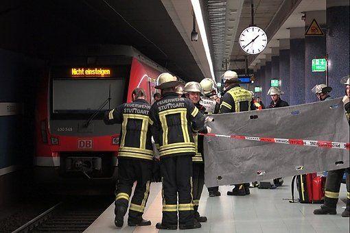 Die S-Bahn überrollte den Mann und kam erst einige Meter später zum Stehen.  Foto: www.7aktuell.de