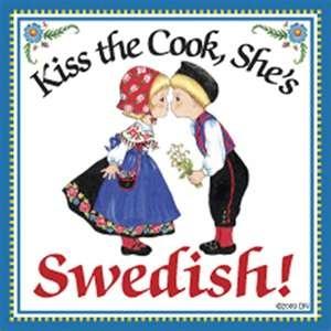 "MAKE THAT ""HE'S SWEDISH!"""