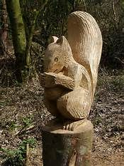 chain saw sculptures - Bing Images