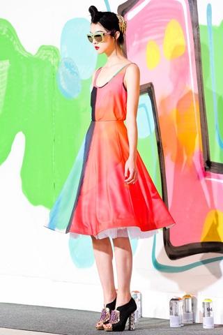 Manish Arora: Fantasy Fashion, Everyday Styles, 201213 Readytowear, Color Combos, Color Blocks, Fall 2012, Day Dresses, 2012 Readytowear, Manish Arora