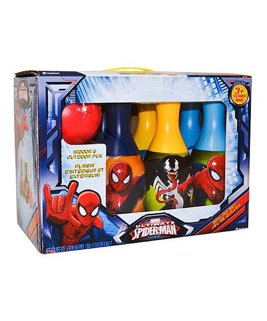 Ultimate Spider-Man Bowling Set