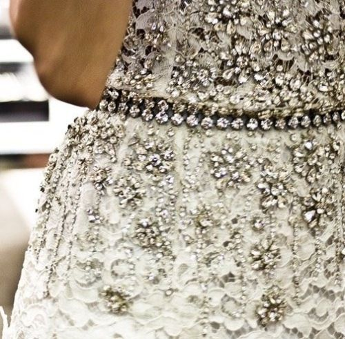 Dolce & Gabbana Lace And Crystal Embellished Dress Spring 2011